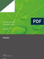 Cultural Landscape Framework Study 160317