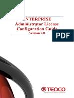 Enterprise Administrator V9.0 License Configuration Guide