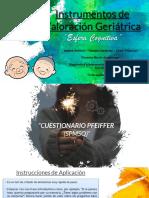INSTRUMENTO DE VALORACION GERIATRICA