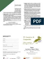 II Concurso JCRM - Bases e Inscripción