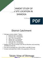 CATCHMENT STUDY OF SHIMOGA CITY new.pptx