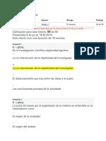 Examen Final - Introducción a La Epistemología