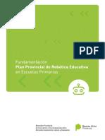 Plan Provincial de robotica