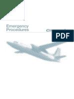 Fokker 50 Carenado Emergency Procedures