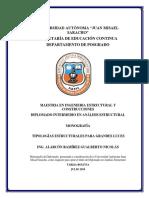 TIPOLOGIAS ESTRUCTURALES - ING. GUALBERTO NICOLAS ALARCON