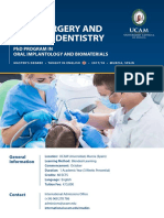 Master in Oral Surgery and Implant Dentistry
