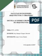 NTP y ASTM.docx