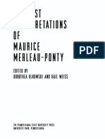 (Re-Reading the Canon) Dorothea Olkowski_ Gail Weiss (Eds.) - Feminist Interpretations of Maurice Merleau-Ponty-Pennsylvania State University Press (2006)