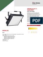 Ficha Técnica - Prixma Flex v1 Series 80w