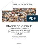Brochure Dinant 2019