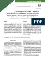 Influencia de Un Enjuague a Base de Fluoruro y Xilitol en La Remineralizacion in Vitro Del Esmalte