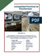 Perfil MEJORAMIENTO Y AMPLIACION DE CAPACIDADES PARA LOS SERVICIOS DE SEGURIDAD.pdf
