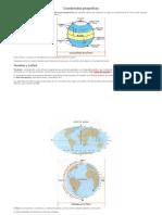 Qué Son Las Coordenadas Geograficas
