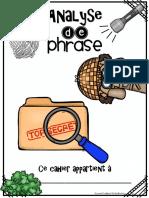 Analyse de Phrase Enquête (1)
