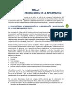 Métodos de Organización de La Información Tema 2