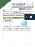 Aviii - Geometria - Avaliacao (1)