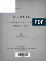 Alanii Migratiuni Graiu Credinta