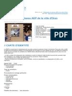 Telegestion Du Reseau Aep de La Ville Doran