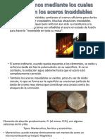 Mecanismos Mediante Los Cuales Funcionan Los Aceros Inoxidables