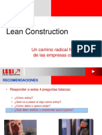 LEAN CONSTRUCCION