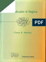 MORTARI, César - Introdução à Lógica (1 Ed)