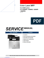 CLX6260FD Service manual
