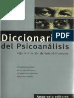 Diccionario de Psicoanalisis - Roland Chemama Completo