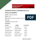 Trabajo Ingenieria Economica Guanaco Trans-Tour Avance Final