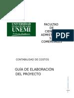 Formato de Proyecto - Costos - N3