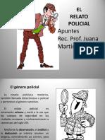 ppt TEORÍA DEL RELATO POLICIAL