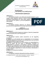 01- Estatuto Del Docente Entrerriano