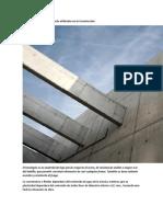 Tipos de Hormigón y Cemento Utilizados en La Construcción