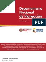 APP Infraestructura Educativa_DNP