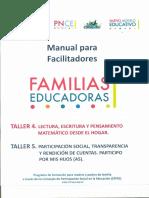 Familias Educadoras Talleres 4 y 5