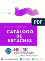 Catalogo Estuches Miluk