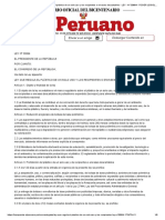 El Peruano - Ley que regula el plástico de un solo uso y los recipientes o envases descartables - LEY - N° 30884 - PODER LEGISLATIVO - CONGRESO DE LA REPUBLICA