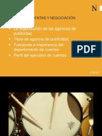 Organización de la agencia de publicidad