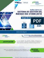 Gm1190 2018 Contenido Curso Sistema de Gestion Iso 31000 1