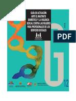 Guía de actuación ante el maltrato doméstico y la violencia sexual contra las mujeres para profesionales de los servicios sociales