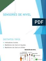 sensores Nivel