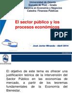 T2 El Sector Publico y Los Procesos Economicos