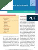 Fluid, Electrolyte, And Acid-Base Disorders Robert B Schonberger 2018