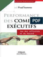 Performance Des Comités Exécutifs