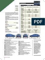 Ficha Tecnica Ford Focus 2.0 Titanium Powershift