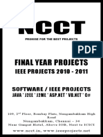 Final Year Projects - Java - J2EE - IEEE Projects 2010 -- IEEE Projects -- a Distributed Stream Query Optimization Framework Through Integrated Planning and Deployment