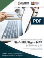 Diplomado SIaf Siga Seace