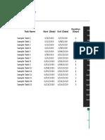 ProjectManager Template Gantt Chart Excel 2019