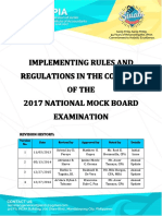 NFJPIA1617_IRR_2017 National Mock Board Examination