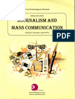 The Nigerian Press,Brown Envelope Syndrome(BES) and Media Professionalism.pdf