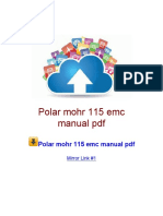 Polar Mohr 115 Emc Manual PDF